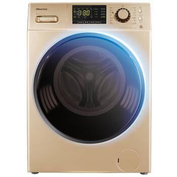 限地区: Hisense 海信 XQG90-S1226FIYG 9公斤 全自动变频滚筒洗衣机1549.2元包邮