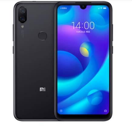 MI 小米 Play  移动4G+ 智能手机 黑色 6GB 128GB999元包邮
