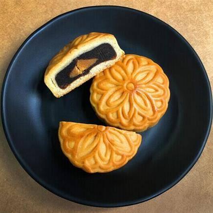 稻香村 蛋黄枣蓉月饼 8枚 8.9元包邮(券后)