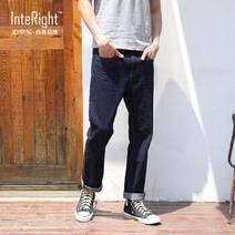 InteRight 4821893 男士直筒牛仔褲 低至83.3元/件