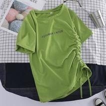 依佩莉牛油果綠t恤S-2XL碼 17.9元包郵(需用券)