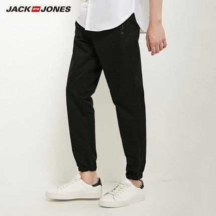 21日0点:JackJones 杰克琼斯 218114574 男装休闲束脚长裤 120元包邮