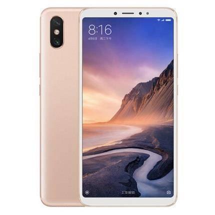 12日0点:MI小米Max3智能手机4GB64GB金色999元包邮
