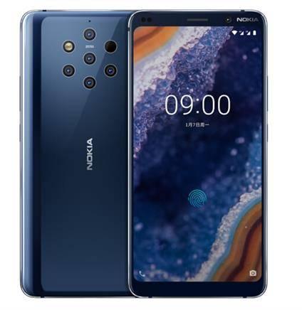 NOKIA 诺基亚 9 PureView 智能手机 6GB+128GB 宇宙蓝    4199元包邮