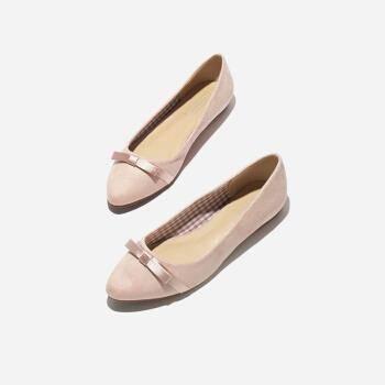 热风 女士小清新平底单鞋