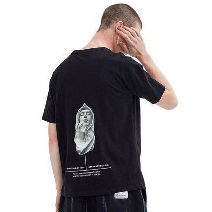 14日10点:Lilbetter 字母人像 男士印花T恤