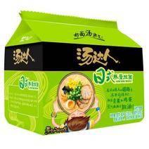 22日6點開始:統一 湯達人 日式豚骨味方便面 五連包 18.9元