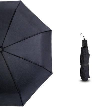 昵迪 八骨手动雨伞 98CM 黑/蓝款可选 9.9元包邮(需用券)