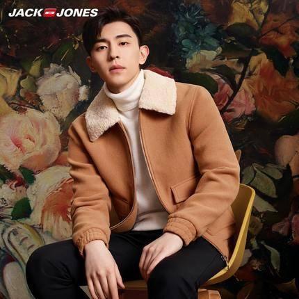 19日0点、前1小时:JackJones杰克琼斯 男士羊毛呢夹克外套