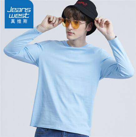 真维斯 JE-99-171009 男士长袖T恤