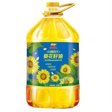 金龙鱼 食用油 不油腻青年 物理压榨葵花籽油 6.18L *3件149.4元包邮(双重优惠,合49.8元/件)