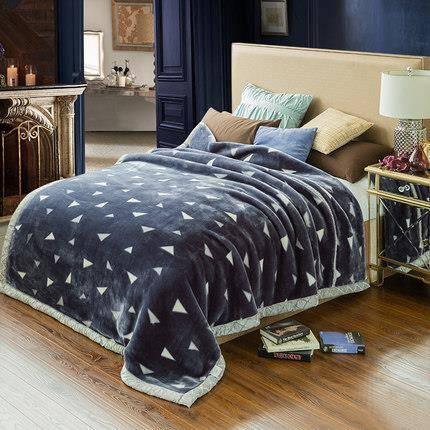 杉杉家纺 拉舍尔双层加厚毛毯 150*200cm79元包邮(需用券)