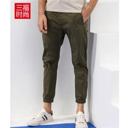 清仓、限尺码:三福 男士休闲九分裤