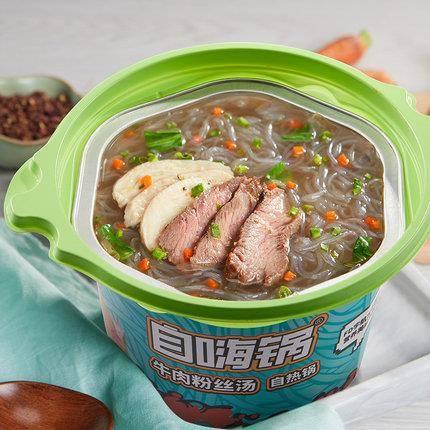 自嗨锅 牛肉粉丝汤 自热火锅 72g*6桶