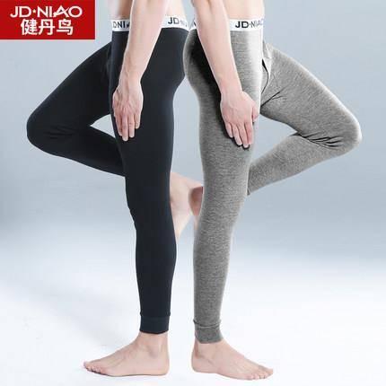 健丹鸟 男士纯棉保暖秋裤 2条装 24.9元包邮(需用券,合12.5元/件)