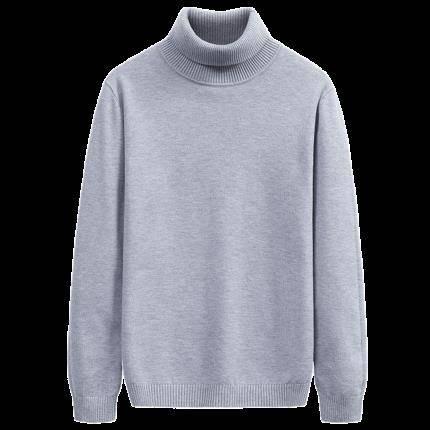 yaloo 雅鹿 Y6011916003-1 男士高领针织衫 64元包邮(需用券)