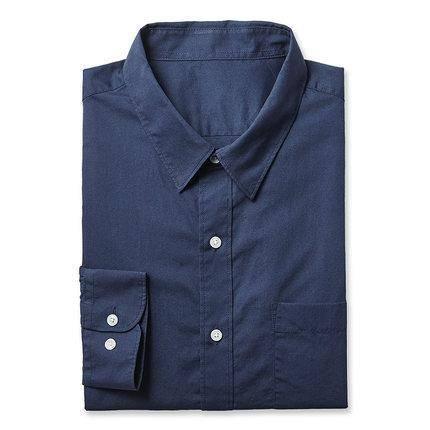 凡客诚品 男士水洗棉商务长袖衬衫 68元包邮(需用券)
