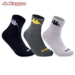 Kappa 卡帕 KP8W15 男士运动短袜 3双 *2件 48.4元包邮(需用券)
