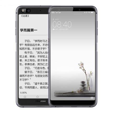 Hisense 海信 A6 双屏智能手机 6GB+128GB    2639元(需用券)