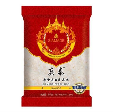 真泰牌 金香进口水晶米 5kg *6件139.4元(双重优惠,合23.23元/件)