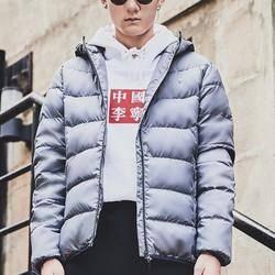 21日0点、双11预售: LI-NING 李宁 AYMM159 男士训练系列羽绒服
