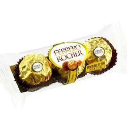 PLUS会员:费列罗 榛果威化巧克力 3粒 *11件