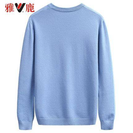 yaloo 雅鹿 男士圆领针织衫 64元包邮(需用券)