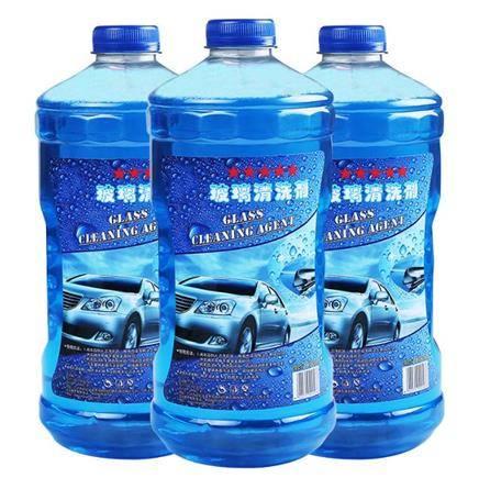 洛饰奇 汽车玻璃水 0℃ 1.8L 2瓶装 4.5元包邮(需用券)