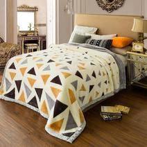 杉杉家紡 拉舍爾雙層加厚毛毯 150*200cm 79元包郵(需用券)
