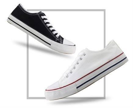 移动端: Double Star 双星 中性款系带帆布鞋29.9元包邮(2人拼团)