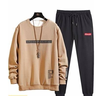GOOFLORON 长袖圆领卫衣套装 衣服+裤子+袜子