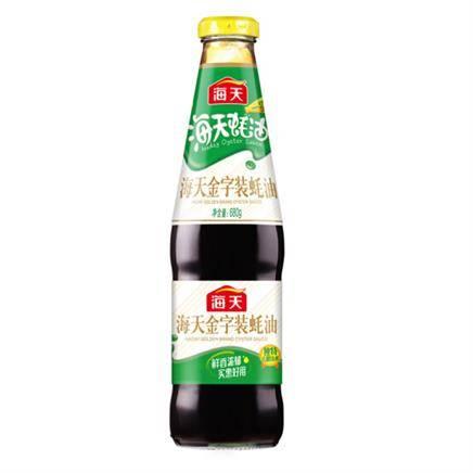 有券的上:海天 金字蚝油 炒菜拌馅提鲜680g*6件    9.5元(双重优惠,合1.5元/件)