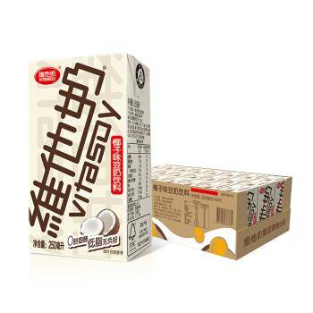 维他奶 vitasoy 椰子味植物蛋白豆奶 250ml*24 *6件