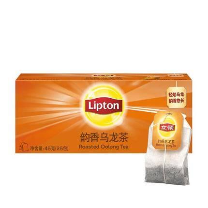 Lipton 立顿 乌龙茶 韵香乌龙茶 1.8g *25包 *3件