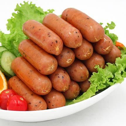 健士牌 火山石烤肠纯肉肠 黑胡椒烤肠 2斤 36元包邮(需用券)