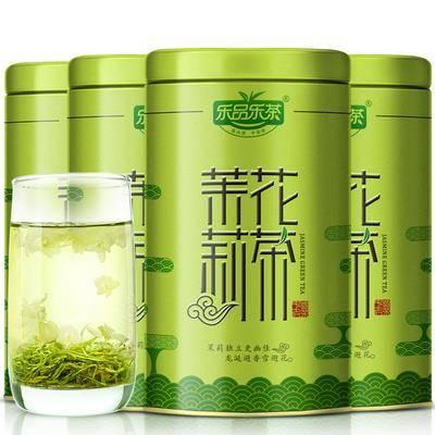 乐品乐茶 浓香型茉莉花茶125g