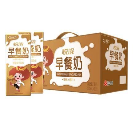 有券的上:三元(SAN YUAN)悦浓苗条砖早餐牛奶250ml*12盒*4件 91.72元(双重优惠,合22.93元/件)