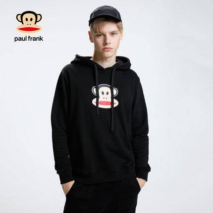 Paul Frank大嘴猴 PFCTT184214M-1 男士连帽卫衣