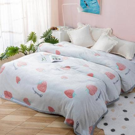 4日10点:Dohia 多喜爱 TZ79898 家用法兰绒毛毯
