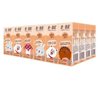 PLUS会员、限地区:统一 奶茶(巧克力)250ml*24盒/箱 整箱