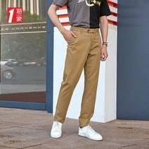 海一家 BKCAJ3V022A 男士純色休閑褲 低至45.3元/件