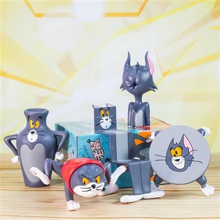 猫和老鼠 汤姆猫杰瑞 单款盲盒 随机1款 30元包邮(需1元定金)