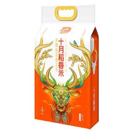 十月稻田 稻花香米2号 东北大米 5kg 25.9元(需用券)