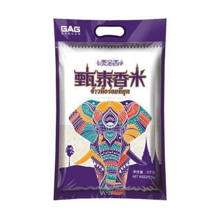 泰金香 甄泰香米 长粒香米 5kg 29.9元包邮(需用券)