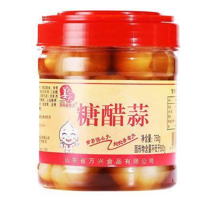 万兴姜老大 糖醋蒜 750g*2瓶29元包邮(券后)