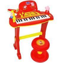 PeppaPig 小豬佩奇 兒童玩具電子琴新春版 79元包郵