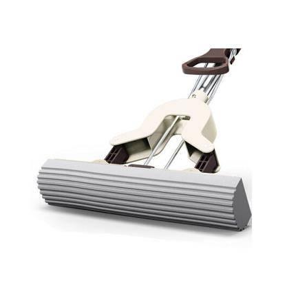 移动专享:vieruodis 免手洗海绵吸水对折拖把
