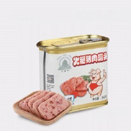 中粮梅林 天坛午餐肉罐头组合 340g *6罐 109.9元包邮