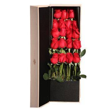 情人节好礼、18点开始:简值了 19朵红色玫瑰花束礼盒179元(2.14当日达)
