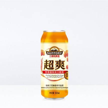 三得利 超爽500ml*12听 啤酒 78元/2箱(含运费)